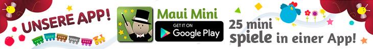 MAUI MINI SPIELE Lernspiele app für Kleinkinder 2,3,4,5 jährige